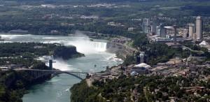 Aerial View Niagara Falls 2014